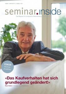 Coverstory mit René Huber