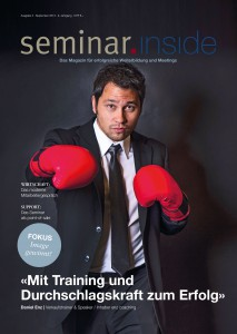September-Ausgabe seminar.inside 2013