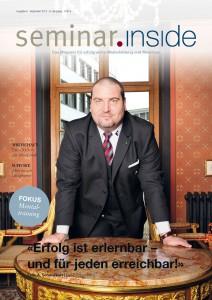 Coverstory mit Felix A. Schweikert
