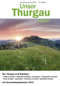 Unser Thurgau 2015 Titelseite