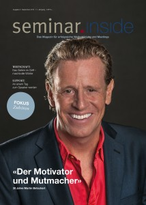 September-Ausgabe seminar.inside 2015
