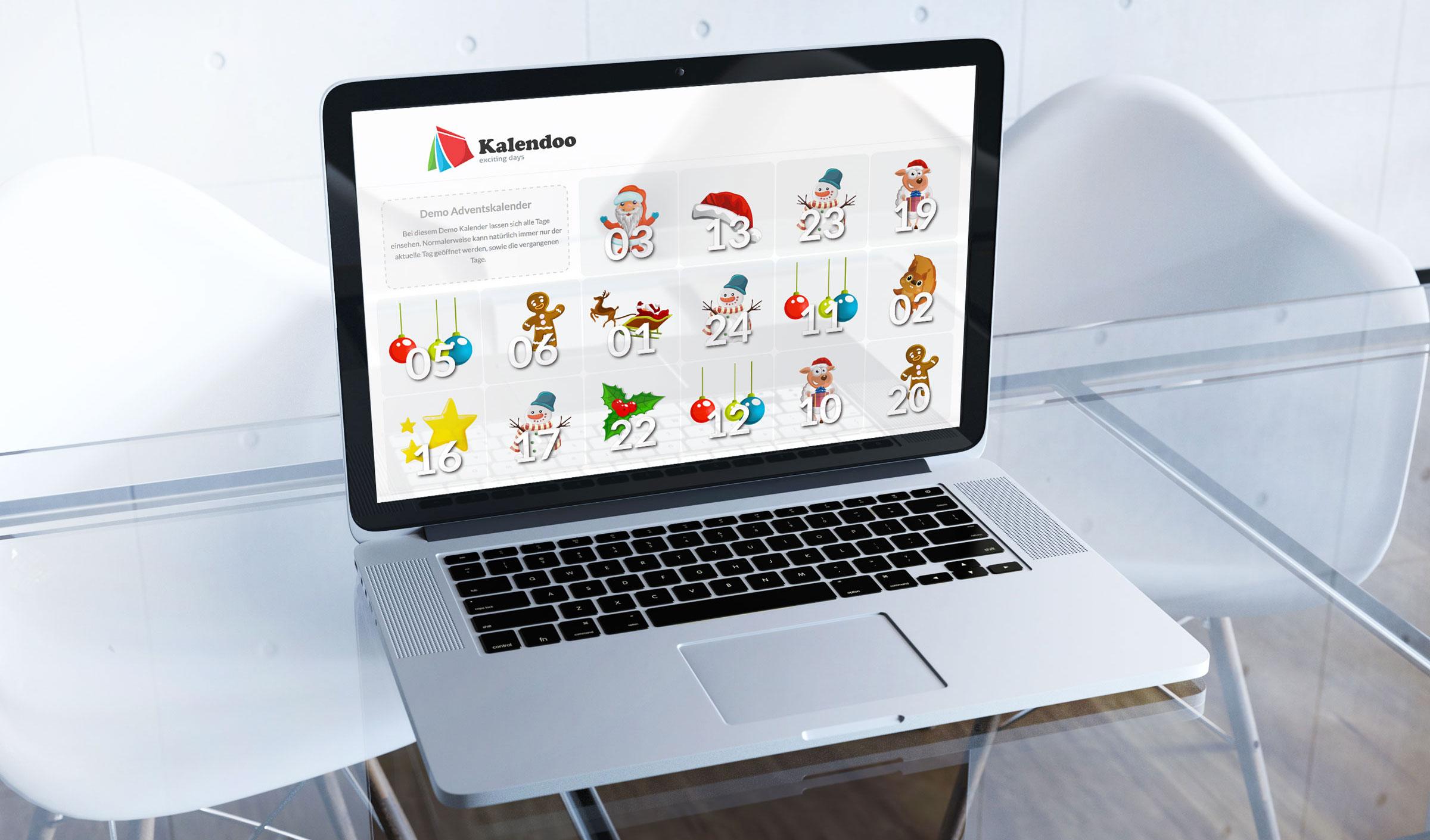 Online-Adventskalender für Ihr Unternehmen oder Ihren Shop